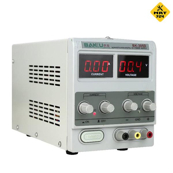 منبع تغذیه 30 ولت 5 آمپر باکو BK-305D
