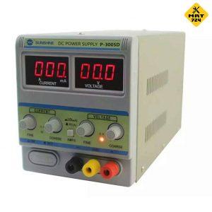 منبع تغذیه 30 ولت 5 آمپر سانشاین P-3005D